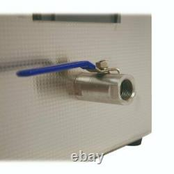 Digital Ultrasonic Cleaner 13L Tank Heated Ultrasonic Bath Cavitek Technology