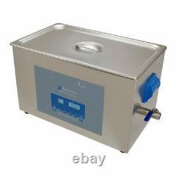 Digital Ultrasonic Cleaner 20L Tank Heated Ultrasonic Bath Cavitek Technology