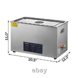 Digital Ultrasonic Cleaner 22L 480W Heated Ultrasonic Cleaning Machine with Timer