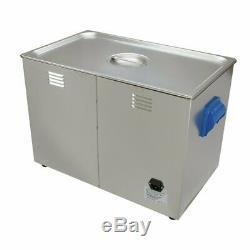 Digital Ultrasonic Cleaner 27L Large Tank Heated Ultrasonic Bath Cavitek Tech