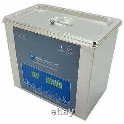 Digital Ultrasonic Cleaner 3L Tank Heated Ultra Sonic Bath Cavitek Technology