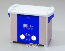 ELMA EP30H PLUS 0.75 Gal Heated Ultrasonic Cleaner, Pulse+Sweep Freq. 1071657