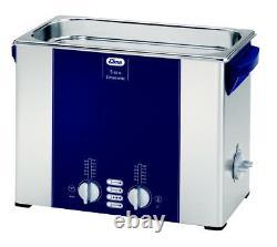 ELMA S60H 1.5 Gal. Heated Ultrasonic Cleaner, 37kHz, 11.8 X 5.9 X 5.9, 1007145