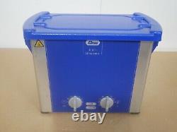 Elma Elmasonic E30H 2.75 Liter Heated Ultrasonic Cleaner Read Description