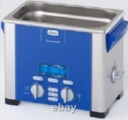Elma Elmasonic P30H 2.75 Liter Heated Digital Ultrasonic Cleaner And Basket, NEW