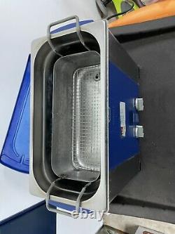 Elma Elmasonic P60H 5.75 Liter Heated Digital Ultrasonic Cleaner And Basket USED