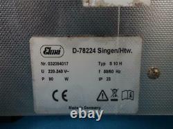 Elma Elmasonic S10H 0.8 Liter Heated Ultrasonic Cleaner And Basket