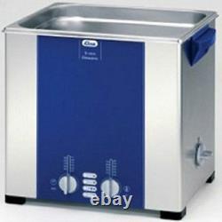 Elma Elmasonic S120H 12.75 Liter Heated Ultrasonic Cleaner And Basket, NEW