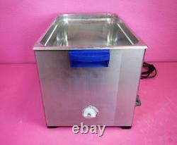Elma Elmasonic S300H 7.5 Gallon Heated Ultrasonic Cleaner with Timer, Sweep, Degas