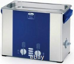 Elma Elmasonic S60H 5.75 Liter Heated Ultrasonic Cleaner And Basket, NEW