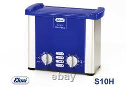 Elmasonic S10 H Ultrasonic Cleaner With Heating 0,9 Ltr Ultrasonic Bath Of Elma