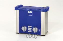 Elmasonic S10H Heated Ultrasonic Cleaner 0.25 Gallon 1007137- 7.5 x 3.3 x 2.4