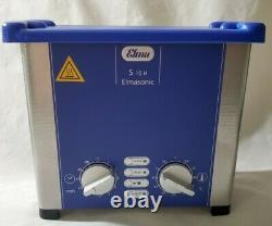 Elmasonic S10H Heated Ultrasonic Cleaner 0.25 Gallon S1000026638