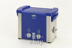 Elmasonic S30H Heated Ultrasonic Cleaner 0.75 Gallon 1007141 9.4 x 5.4 x 3.9