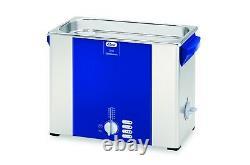Elmasonic S60H Heated Ultrasonic Cleaner 1.5 Gallon 1007145 11.8 x 5.9 x 5.9