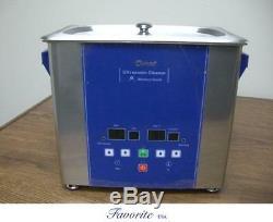 Eumax 3 Liter 3/4 Gallon Large Capacity Heated Digital Ultrasonic Cleaner New