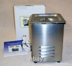 Eumax Digital Heated Ultrasonic Cleaner Model Ud50sh-2l