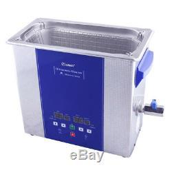 Eumax Ultrasonic cleaner 6L-4x 50watt transducer & heating & digital LED panel
