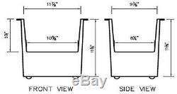 Full Set Dsa280se-sk1 10l 880w Heated Industrial Ultrasonic Parts Cleaner Washer