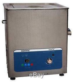 Heated Ultrasonic Cleaner 15 Liter 45 Gal By Sharpertek