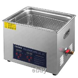 Industry Heated Digital 10L Stainless Steel Ultrasonic Cleaner Heater withTimer