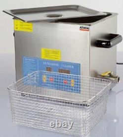 Kendal Commercial Grade 9 Liters 540 Watts Heated ULTRASONIC Cleaner HB49
