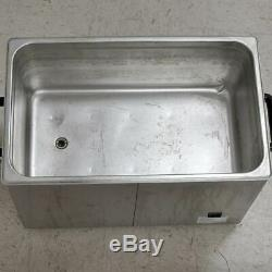 Kendal HB-S-027DHT Commercial Grade Ultrasonic Cleaner 27 Liters Heated Digital
