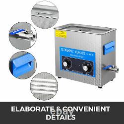 Knob Control 30L Ultrasonic Cleaner Stainless Steel Heated Heater withTimer