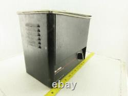L&R Quantrex 210 Ultrasonic Heated Cleaner Drain Lid 5.7L Capacity Tested Good