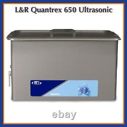 L&R Quantrex 650 Ultrasonic Cleaner Choose Option With Heat or Without Heat