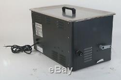 L&R Quantrex Q650 Ultrasonic 6.5 Gallon Heated Cleaner Fair Condition