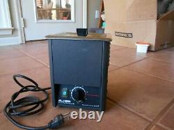 L & R Ultrasonics Quantrex Q90h Ultrasonic Cleaner With Heat