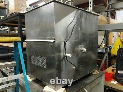 Large Dual Ultrasonic Cleaner Heated Wash Station Crest Genesis Eze Sonics