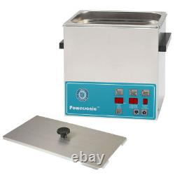 NEW! Crest Powersonic P360D-45 1.0 Gal Heated Ultrasonic Cleaner, 0360PD045-1
