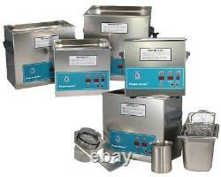 NEW! Crest Powersonic P360H-45 1.0 Gal Heated Ultrasonic Cleaner, 0360PH045-1