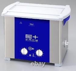 NEW ELMA EP120H PLUS Heated 3.5 Gal Ultrasonic Cleaner 37kHz Pulse Freq 107 1672