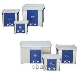 NEW! ELMA EP180H PLUS Heated 5 Gal Ultrasonic Cleaner 37kHz Pulse Freq 107 1674