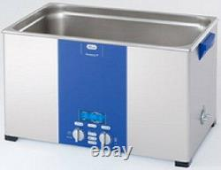 NEW Elma Elmasonic P300H 28 Liter Heated Sonicator Ultrasonic Cleaner And Basket