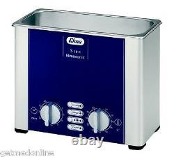 NEW! Elma S10H 1/4 Gal Ultrasonic Cleaner, Digital+Timer+Heat+Degassing+Basket