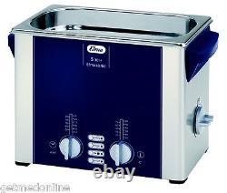 NEW! Elma Sonic S30H 0.75 Gal Ultrasonic Cleaner, Digital+Timer+Heat+Degassing