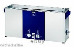 NEW! Elma Sonic S80H 2.5 Gal Ultrasonic Cleaner, Digital+Timer+Heat+Degassing