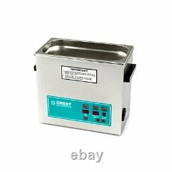 NEW, Sealed Crest CP500D 1.5 Gal Ultrasonic Cleaner Heat/Digital with Basket