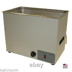 NEW! Sonicor 7.0 Gal Tabletop Ultrasonic Cleaner, 20 x 12 x 8, withHeat, S-401H