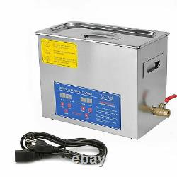 New 30L Ultrasonic Cleaner Stainless Steel Industry Heated Heater withTimer