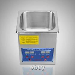New Stainless Steel Industry Heated Multipurpose Ultrasonic Cleaner Jewelry