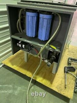 Omegasonics 3600XW 75 Gal Heated Ultrasonic Cleaner FOR PARTS REPAIR AS IS READ