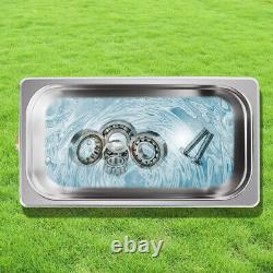 Portable 6.5L Ultrasonic Cleaner Stainless Steel Industry Heated Heater withTimer