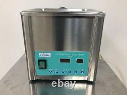 Pre-Owned Brandmax TRI-CLEAN Ultrasonic Cleaner withHeat & Basket 5 Liter #U-5LH