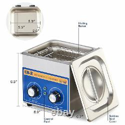 Preenex 6L Ultrasonic Cleaner Cleaning Equipment Liter Industry Heated w. Timer