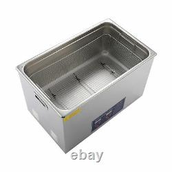 Secondhand Stainless Steel 30L Liter Heated Ultrasonic Cleaner Heater withTimer